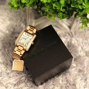 Michael Kors Emery Rose Gold-Tone Women's Watch